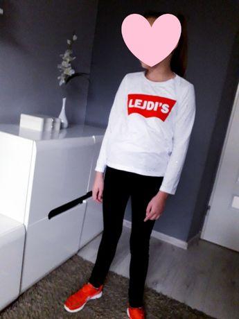 Bluzeczka bluza j LEVIS Mała Mi LEJDIS 134/140 biała j nowa