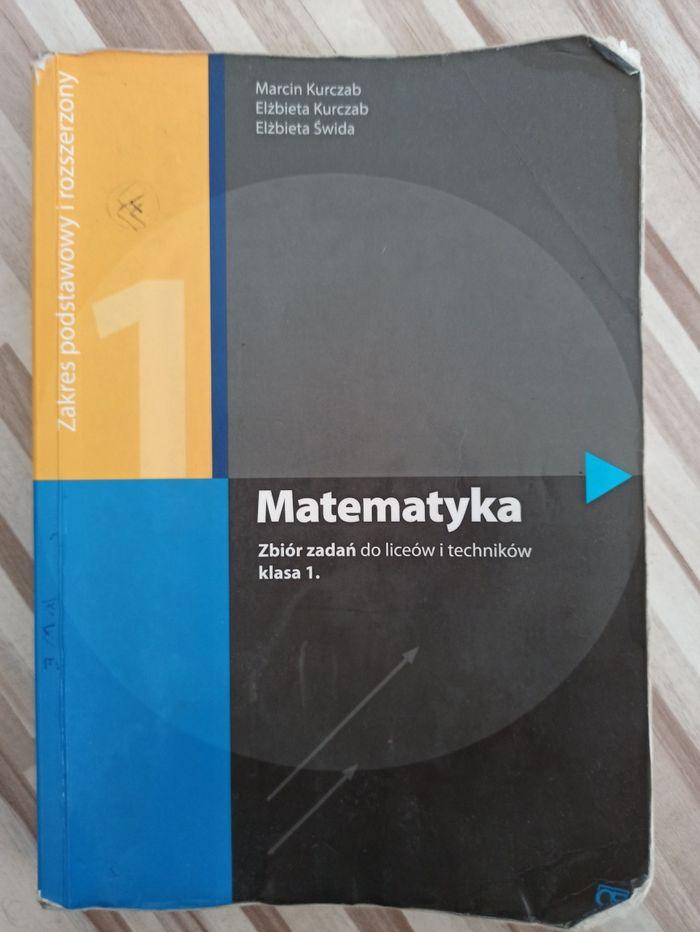 Zbiór zadań matematyka klasa 1 poziom podstawowy i rozszerzony Oświęcim - image 1
