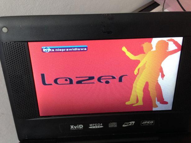 DVD przenośne LAZER niesprawne.