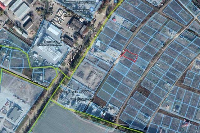 Земельный участок в Яру со стороны ул.Половка