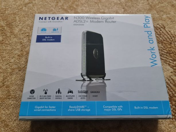 NETGEAR DGN3500 Wireless Gigabit ADSL2+ Modem Router