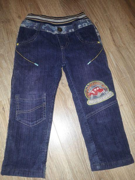 Джинсы штаны утепленные