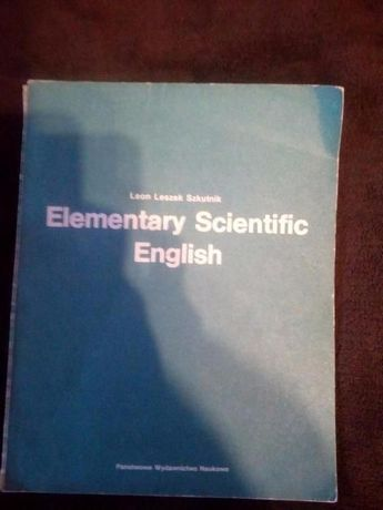 Elementary Scientific English