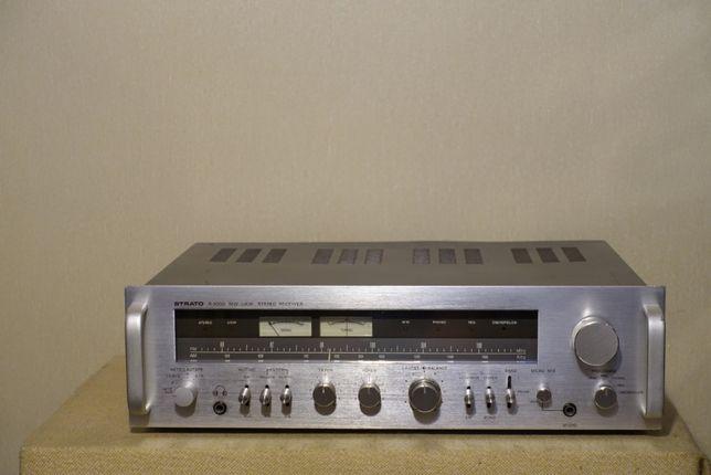 Топовый HI-FI ресивер STRATO R9000 (2х115Вт/13кг/тр-ры МЕТАЛЛ)(ЗВУК!)