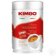 Кава KIMBO ANTICA TRADIZIONE мелена 250г ж/б .