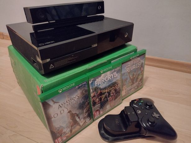 Xbox One Super Zestaw, Stacja dokująca, Kinect, Far Cry , odyssey