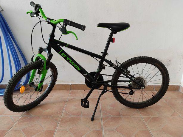 "Bicicleta Decathlon roda 20"""