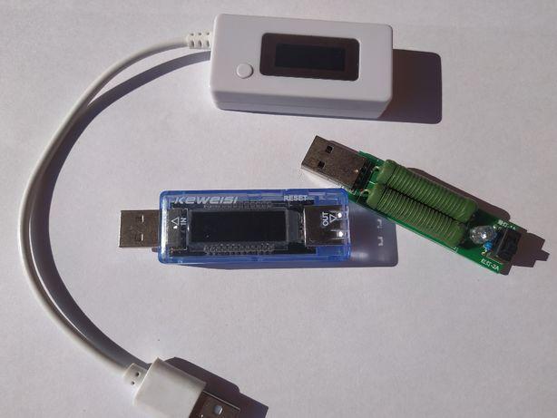 Charge Doctor USB Тестер (вольтметр, амперметр, ємкість) Keweisi - V20