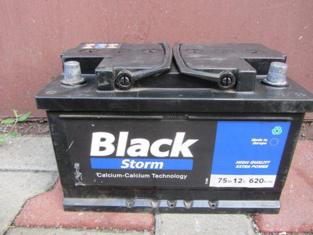 Akumulator Black Storm 75Ah 620A P+ 12V