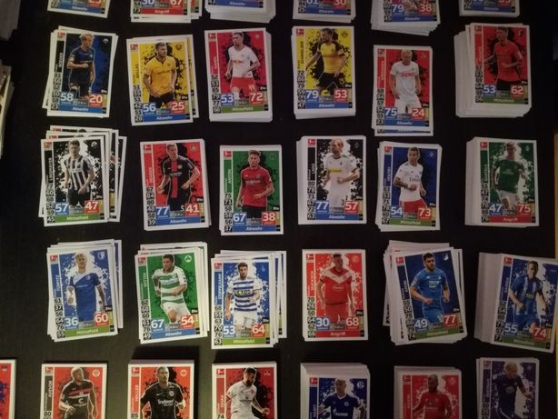Topps Match Attax Bundesliga 2018/2019 - karty