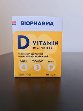 Витамин D, Biopharma, Норвегия