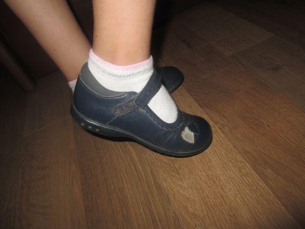 Туфли кожаные фирмы Кларкс ,Clarks 25р