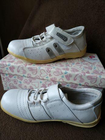 Кроссовки Кеды Детская спортивная обувь, фирма WALKER, 34 р, Кожа Новы