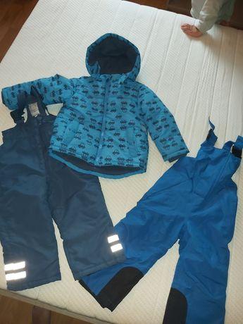 Kurtka plus dwie pary spodni zimowych