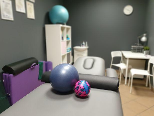 Fizjoterapia kobieca, wady postawy, taping, ciąża, rehabilitacja d.