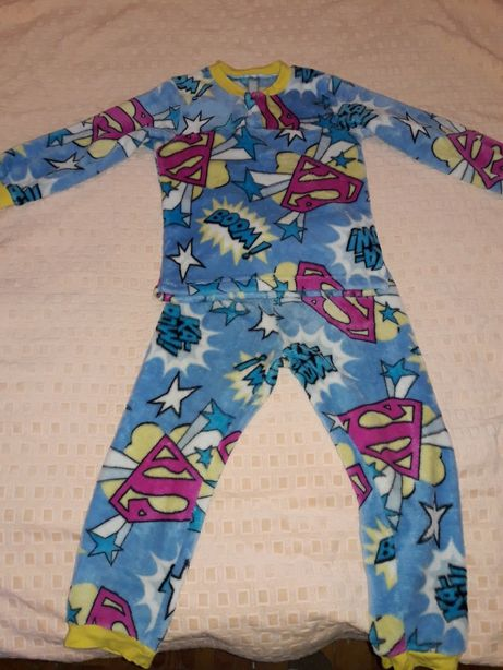 Тёплая махровая пижамка