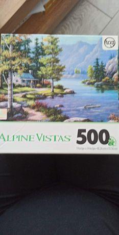 Puzzle z USA 500 i 550 elementów