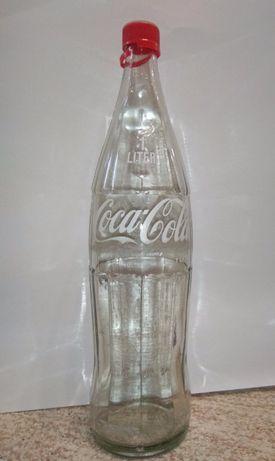 Бутылка коллекционная COCA-COLA \ КОКА-КОЛА в оригинале с крышкой 1954