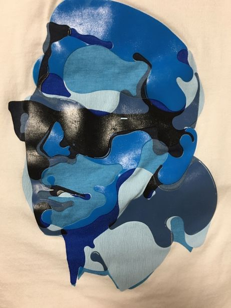 Karl Lagerfeld t-shirt z nadrukiem S