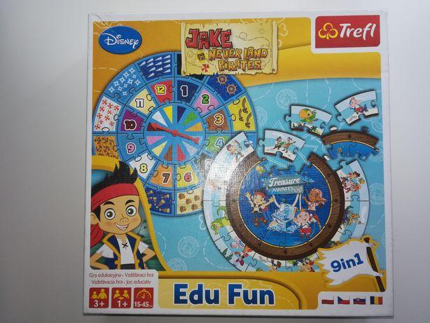 Jake i Piraci z Nibylandii gra w formie puzzli