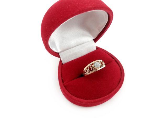 Złoty pierścionek z KAMIENIEM 585 2,26G R15