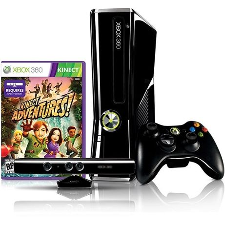 Xbox 360 Slim 250GB + Kinect + Jogos + Forza Horizon Com DLC + LT 3.0