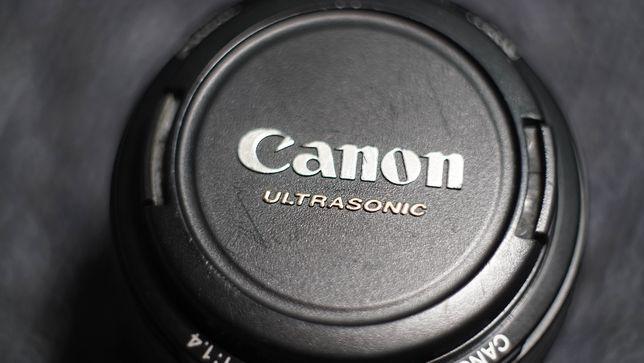 Obiektyw Canon EF 50mm f/1,4 USM