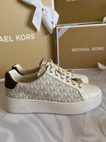 Женские кожаные кроссовки Michael Kors