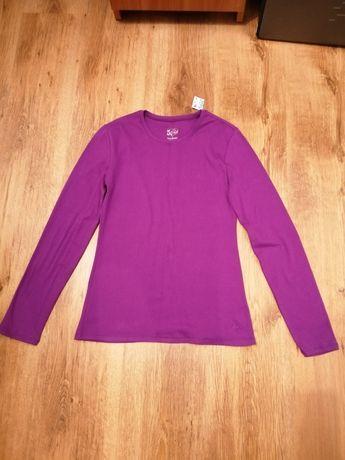 Justice nowa fioletowa bluzka koszulka