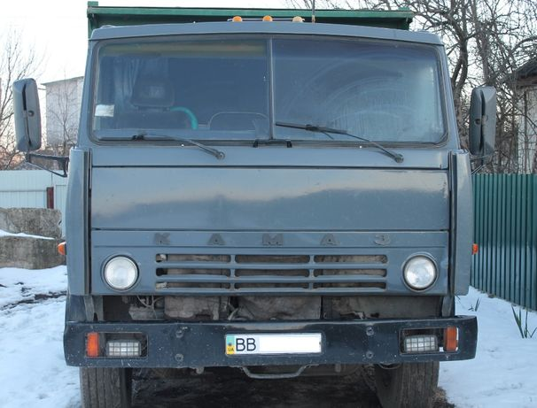 КАМАЗ 53212 с прицепом