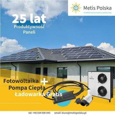 Zestaw fotowoltaika 6kWp, pompa ciepła 6kW