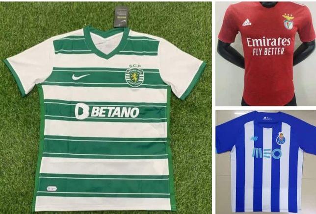 Camisolas Sporting,Benfica,Porto