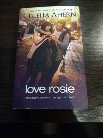 "Książka ""Love, rosie"" Cecelia Ahern"