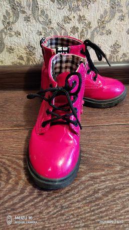 Демисезонные ботинки, зимние сапожки