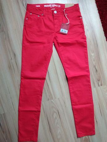 Spodnie czerwone Mossimo W27