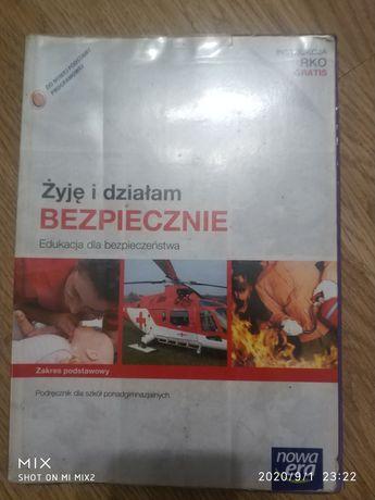 Podręcznik Edukacja dla bezpieczeństwa Żyję i działam bezpiecznie