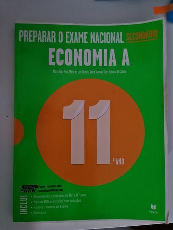 Livro preparação para exames Económia A