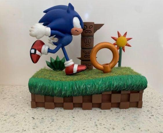 Diorama Sonic Azul
