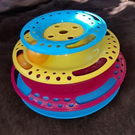 zabawka dla kota trixie, wieża z piłeczkami, catch the balls