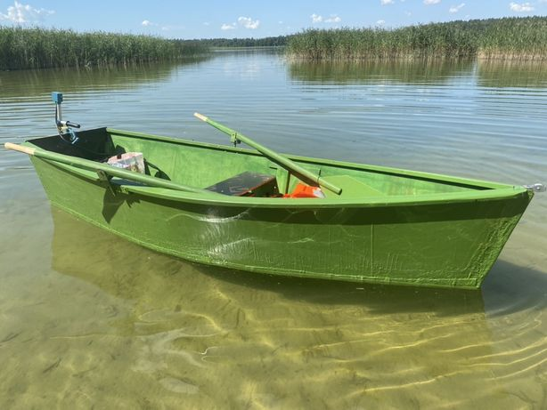 Łódka Płaskodenna ze sklejki liściastej Zamiana na Rower/ skuter