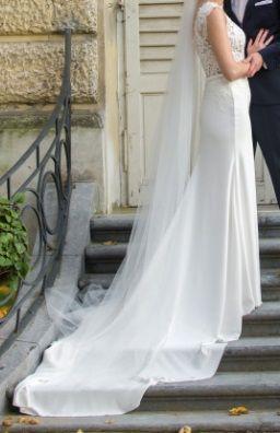 Suknia ślubna PRONOVIAS Barcelona DRENINA