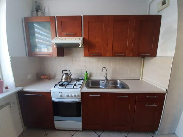 szafki/ meble kuchenne BRW z drewnianymi frontami, cichym domykiem i
