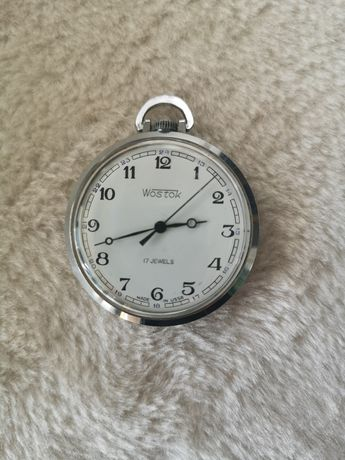 Zegarek kieszonkowy Wostok po remoncie