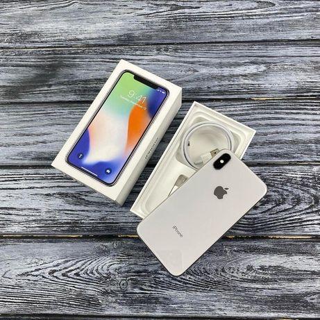 Новые∎ iPhone X 64/ 256 Акция Black Silver ∎ Гарантия 1 год ∎+ПОДАРОК