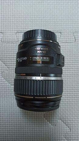 Obiektyw Canon EFS 17-85 Macro 0.35m/1.2ft