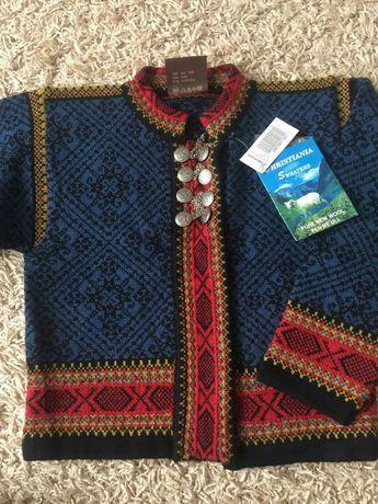 Светр, натурашьна шерсть 100%, свитер,кофта Норвегия.
