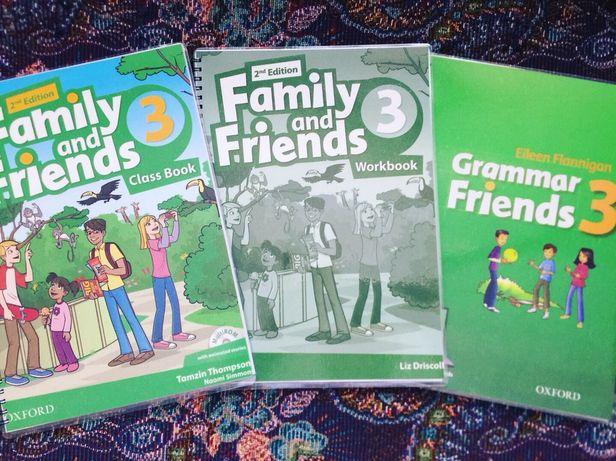 Family and Friends все уровни(грамматика)