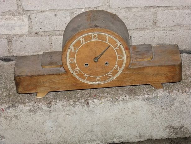 Zegar kominkowy - lata 70-te