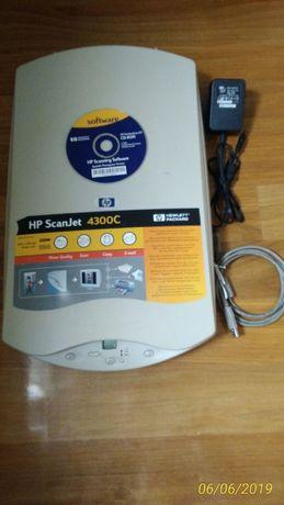 Scanner hp com CD instalação