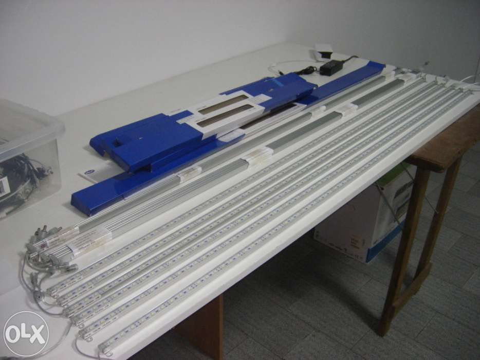 Calha led para aquario 1500mm , 2880 lumen